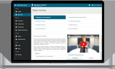 Moderní e-learningový systém s online knihovnou
