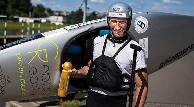 Olympionik Gebas krotí vodu i reality. K úspěchu mu pomáhá studium MBA